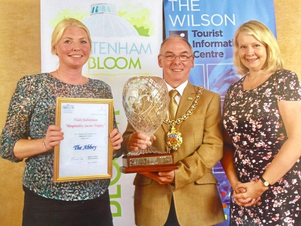 VisitCheltenham Hospitality Trophy