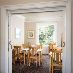 Breakfast room serving fantastic english breakfast